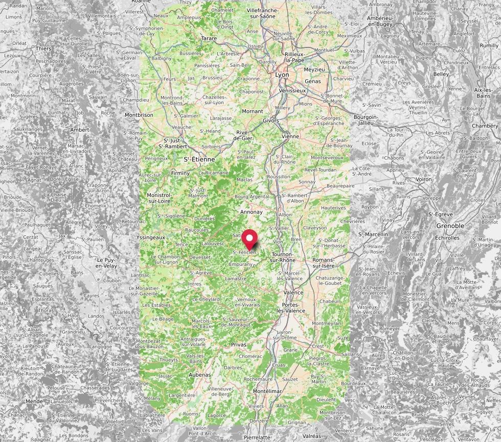Zone Shiatsu équin Rhône-Alpes